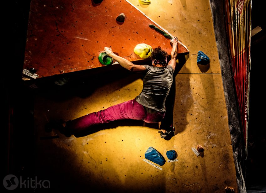 Kitka introduced to Austria: Bouldernight 2015 in Landeck's Old Cinema
