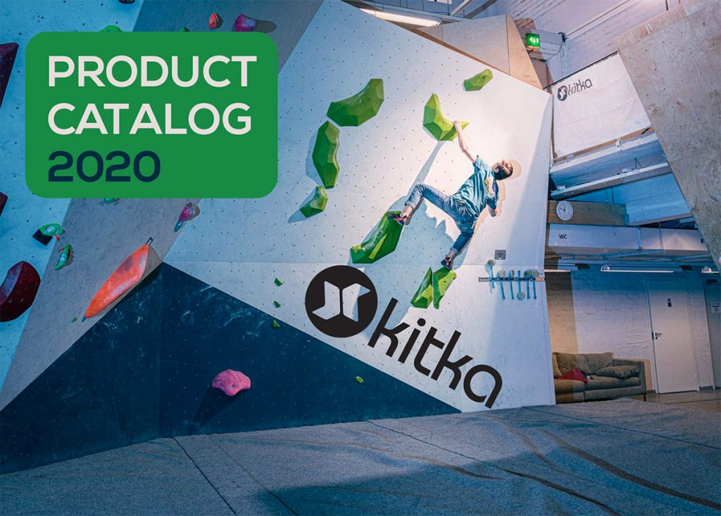 Kitka climbing holds catalog cover