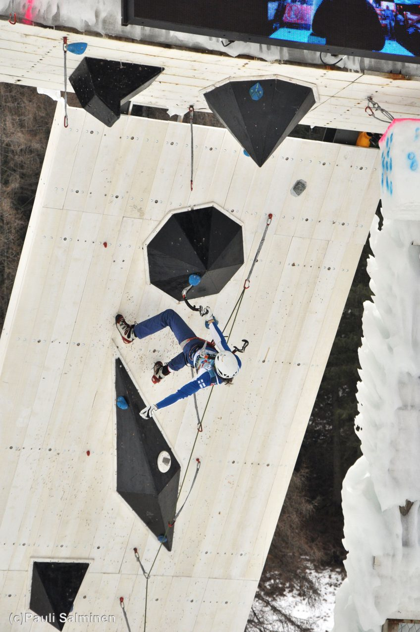 The First Finns in Ice Climbing World Cup